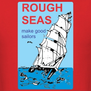 rough seas - Men's T-Shirt