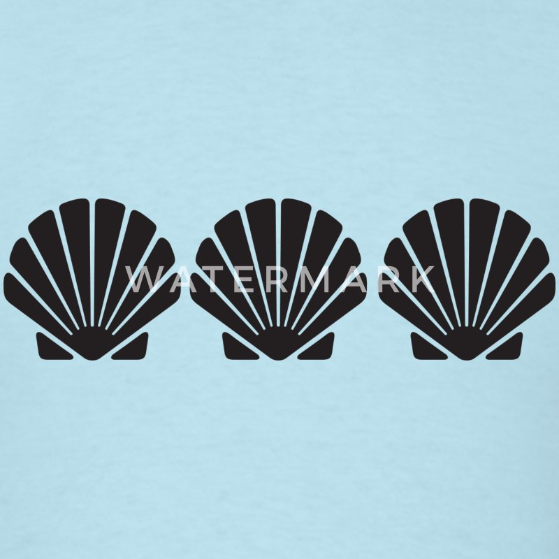 3 Seashells T-Shirts - Men's T-Shirt