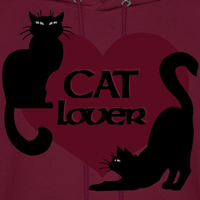 Cat Lover Hoodie Men's Cat Sweatshirt