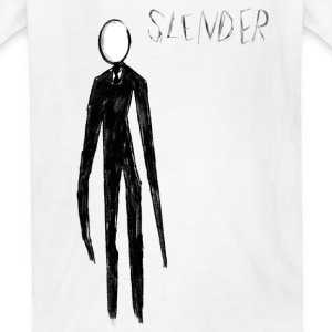 Slenderman - Kids' T-Shirt