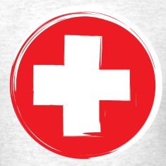 First Aid Symbol T-Shirts