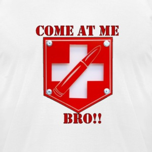 Come at me Bro - Men's T-Shirt by American Apparel