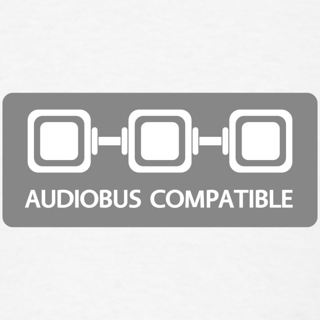 Audiobus Compatible: Blank, men's