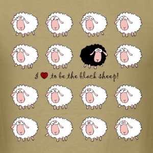 i love to be the black sheep ★ Spiritspread T-Shirts - Men's T-Shirt