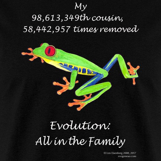 Frog black tee shirt
