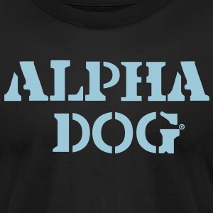 ALPHA DOG - Men's T-Shirt by American Apparel