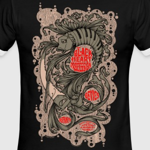 BLACK HEART PROCESSION - Men's Ringer T-Shirt
