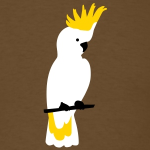 Cockatoo parrot T-Shirts - Men's T-Shirt