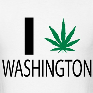 Washington Weed - Men's T-Shirt