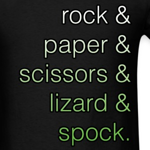 Big Bang Theory - Rock Paper Scissors Lizard Spock - Men's T-Shirt