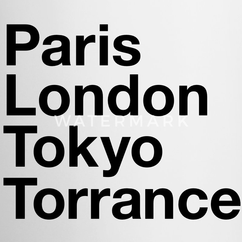 Paris London Tokyo Torrance Mugs & Drinkware - Coffee/Tea Mug