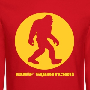 Gone Squatchin Long Sleeve Shirts - Crewneck Sweatshirt