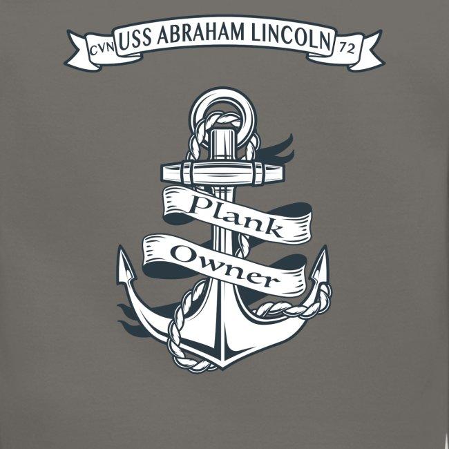 USS ABRAHAM LINCOLN PLANK OWNER SWEATSHIRT