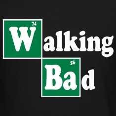 Walking Bad Long Sleeve Shirts
