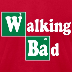 Walking Bad T-Shirts - Men's T-Shirt by American Apparel