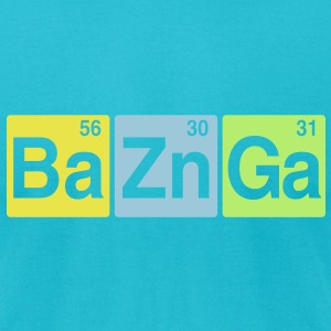Ba Zn Ga T-Shirts - Men's T-Shirt by American Apparel