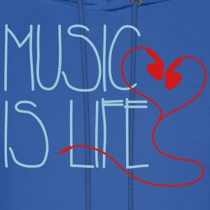Music is Life Hoodies - Men's Hoodie