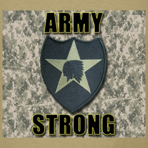 Army Strong - 2nd ID - Men's T-Shirt