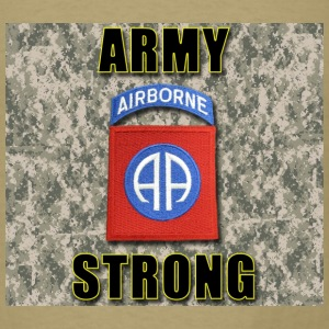 Army Strong - 82nd Airborne - Men's T-Shirt