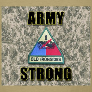 Army Strong - Armor - Men's T-Shirt