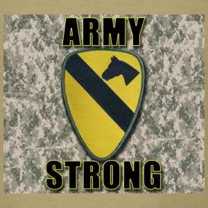 Army Strong - 1st Cavalry - Men's T-Shirt