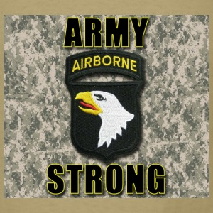Army Strong - 101st Airborne - Men's T-Shirt