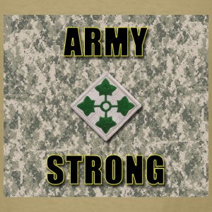 Army Strong - 4th ID - Men's T-Shirt