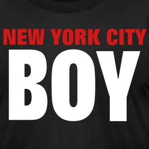 NEW YORK CITY BOY - Men's T-Shirt by American Apparel