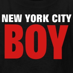 NEW YORK CITY BOY Kids' Shirts