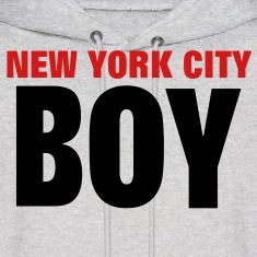 NEW YORK CITY BOY Hoodies