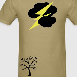 Light bolt nature Men's Standard Weight T-Shirt - Men's T-Shirt