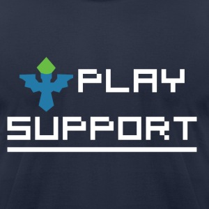 I Play Support T-Shirts - Men's T-Shirt by American Apparel