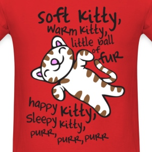 Big Bang Soft Kitty Warm Kitty T-Shirts - Men's T-Shirt