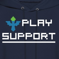 I Play Support Hoodies