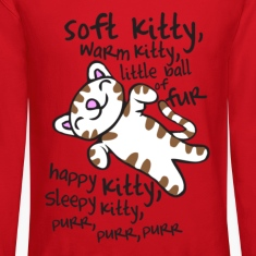 Big Bang Soft Kitty Warm Kitty Long Sleeve Shirts