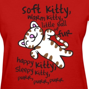 Soft Kitty Warm Kitty Women's T-Shirts - Women's T-Shirt