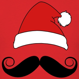 Santa's Stache T-Shirts - Men's T-Shirt