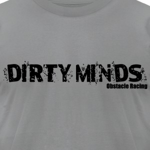 Dirty Minds Logo T-Shirts - Men's T-Shirt by American Apparel