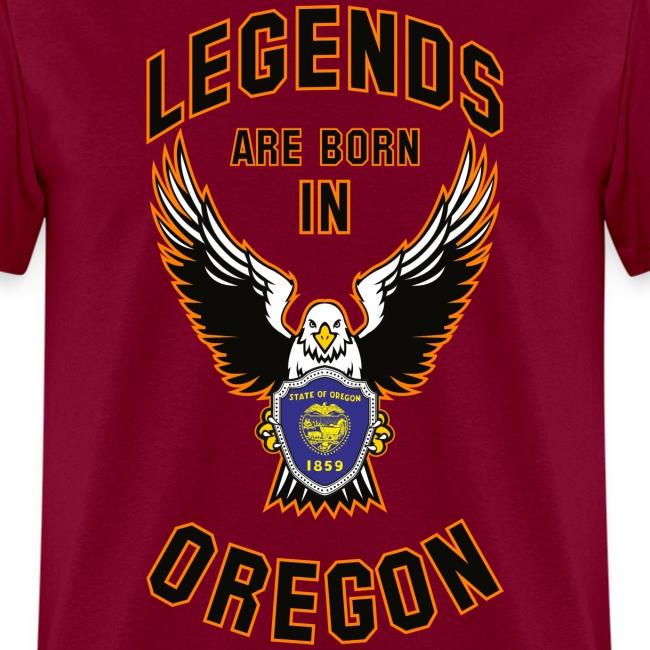 Legends are born in Oregon