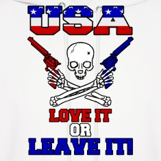 USA - Love It or Leave It Hoodies