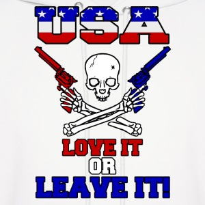 USA - Love It or Leave It Hoodies - Men's Hoodie