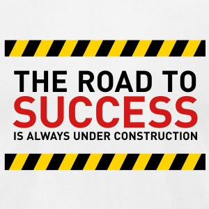Road To Success 1 (3c)++2012 T-Shirts - Men's T-Shirt by American Apparel