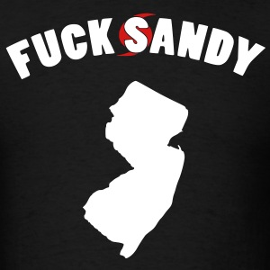 FUCK Hurricane Sandy - Men's T-Shirt