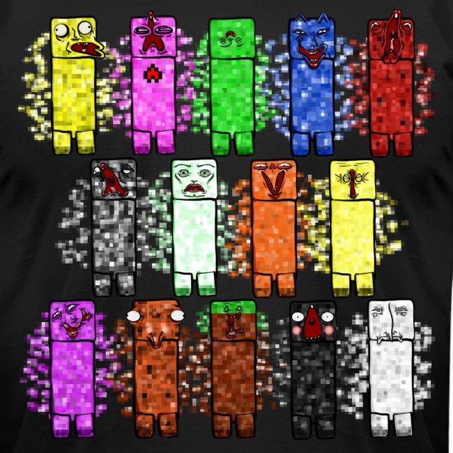 Elemental Creeps Design #1