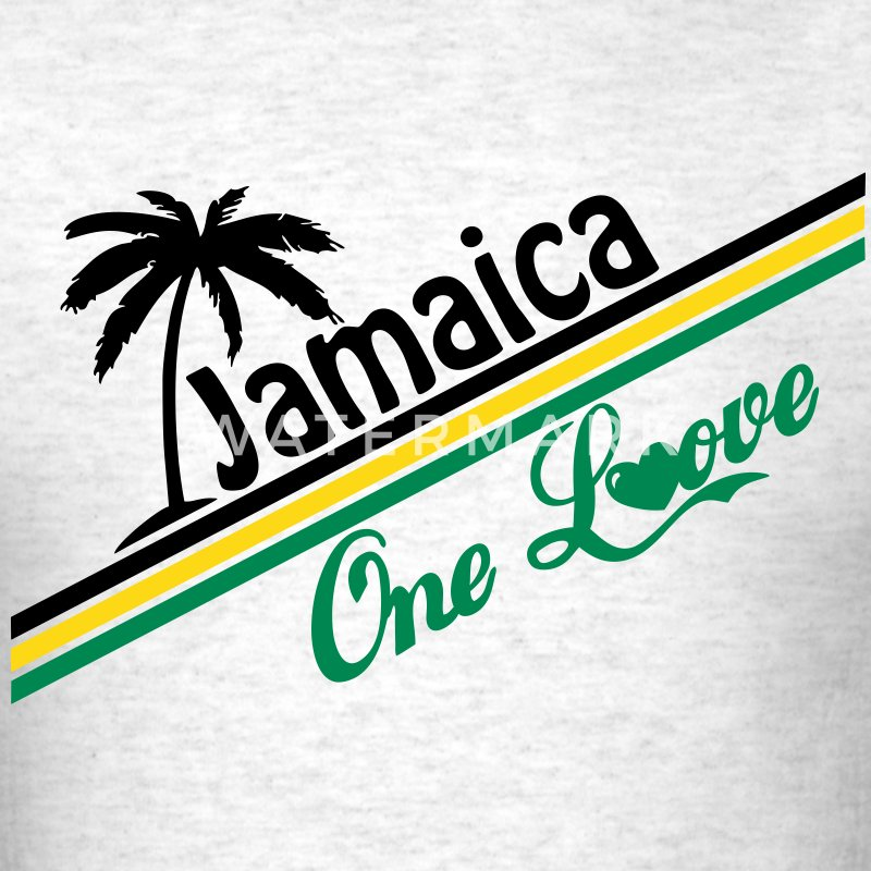 jamaica one love T-Shirts - Men's T-Shirt