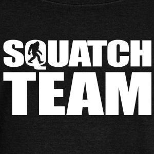 Squatch Team Long Sleeve Shirts - Women's Wideneck Sweatshirt