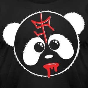 SIR Panda Drool - Invert - Men's T-Shirt by American Apparel