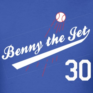 Benny the Jet for Blue_white 30 T-Shirts - Men's T-Shirt