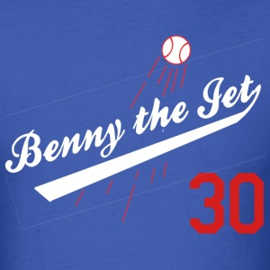 Benny the Jet for Blue_red 30 T-Shirts - Men's T-Shirt