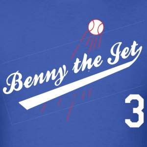 Benny the Jet for Blue_white 3 T-Shirts - Men's T-Shirt